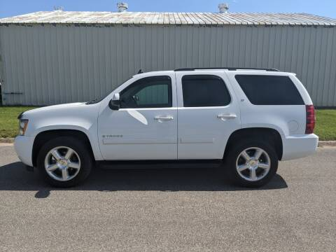 2008 Chevrolet Tahoe for sale at TNK Autos in Inman KS