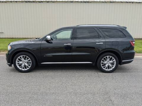 2015 Dodge Durango for sale at TNK Autos in Inman KS