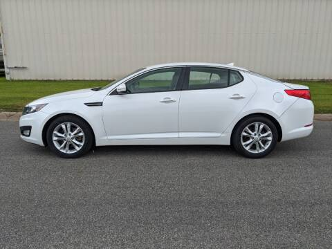 2013 Kia Optima for sale at TNK Autos in Inman KS