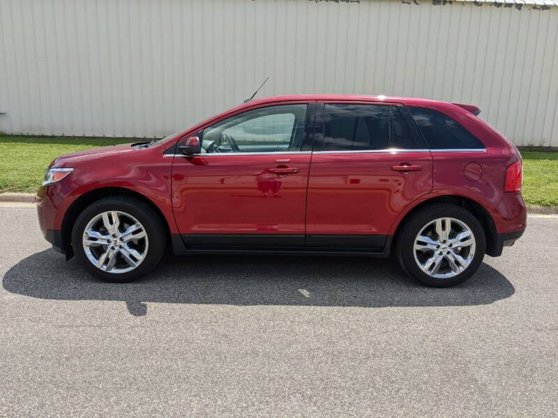 2014 Ford Edge for sale at TNK Autos in Inman KS