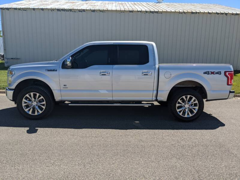 2015 Ford F-150 for sale at TNK Autos in Inman KS