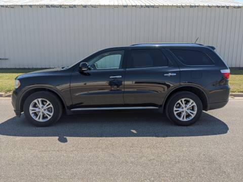 2013 Dodge Durango for sale at TNK Autos in Inman KS
