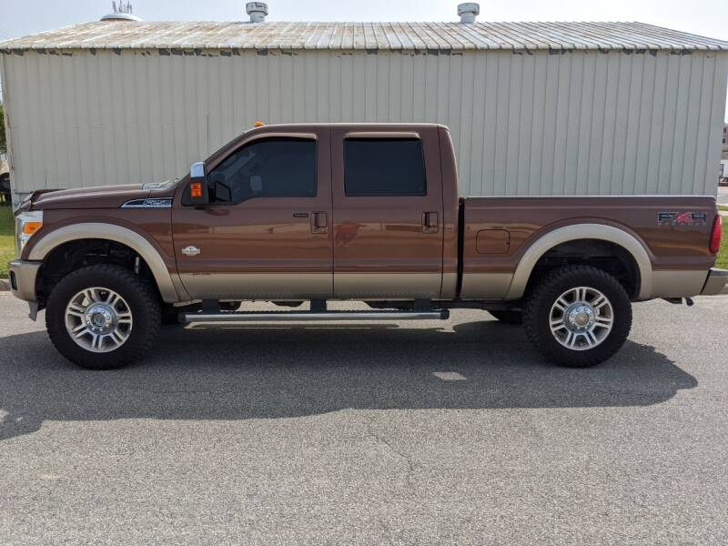 2011 Ford F-250 Super Duty for sale at TNK Autos in Inman KS
