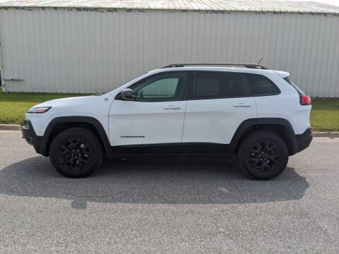 2015 Jeep Cherokee for sale at TNK Autos in Inman KS