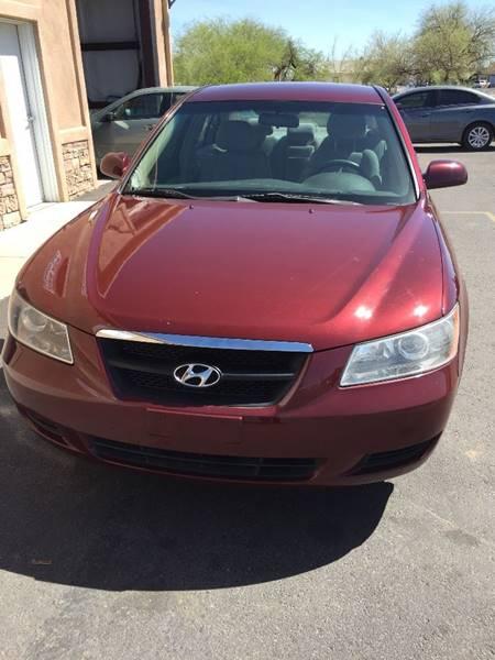 2008 Hyundai Sonata GLS   Coolidge AZ