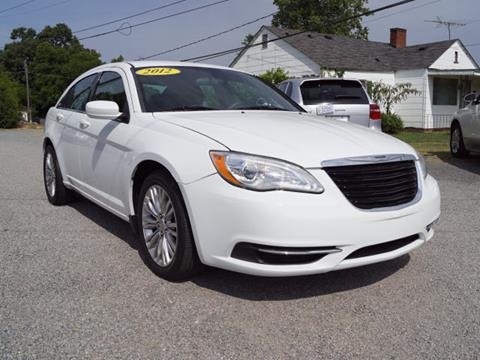 2012 Chrysler 200 for sale in Kannapolis, NC