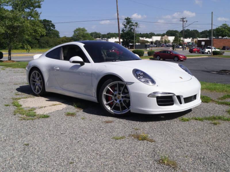 2015 Porsche 911 for sale at Auto Mart in Kannapolis NC