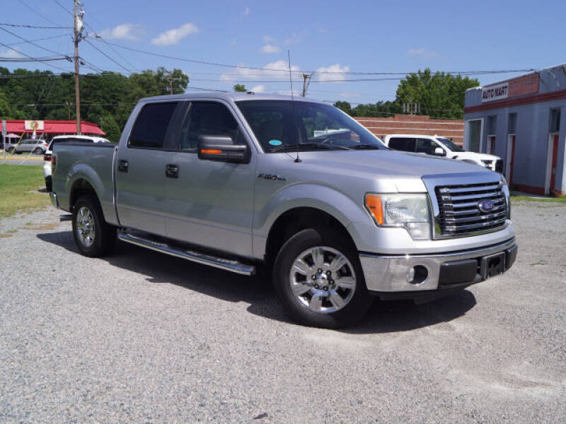 2010 Ford F-150 for sale at Auto Mart in Kannapolis NC