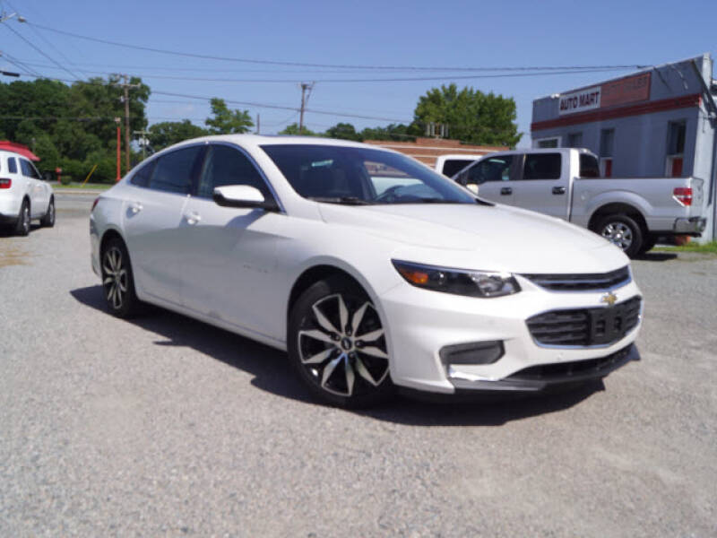 2016 Chevrolet Malibu for sale at Auto Mart in Kannapolis NC