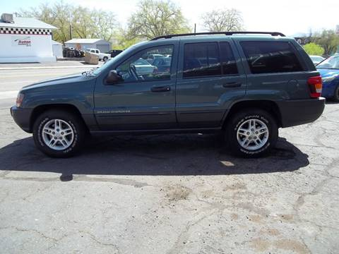 2003 Jeep Grand Cherokee for sale at GALLIAN DISCOUNT AUTO in St George UT
