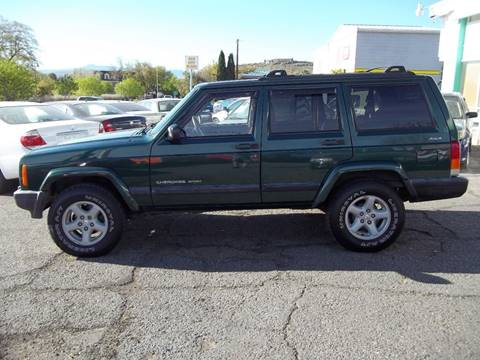 2000 Jeep Cherokee for sale at GALLIAN DISCOUNT AUTO in St George UT
