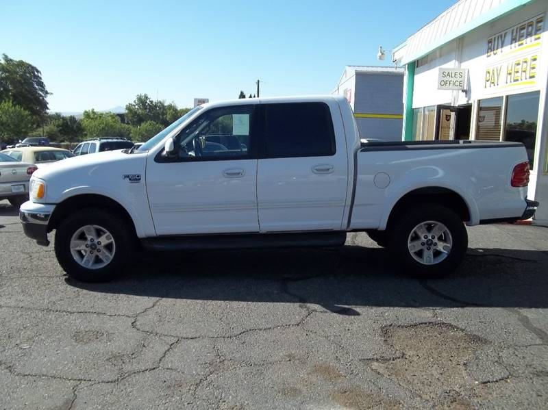 2002 Ford F-150 for sale at GALLIAN DISCOUNT AUTO in St George UT