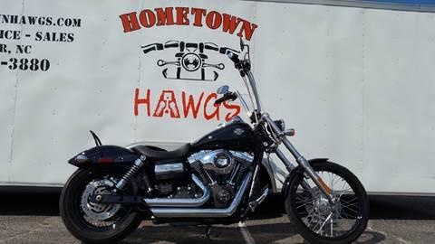 2012 Harley-Davidson Dyna Wide Glide FXDWG