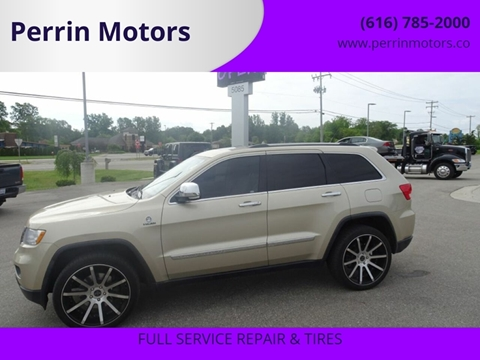 2011 Jeep Grand Cherokee Overland Summit for sale at Perrin Motors in Comstock Park MI