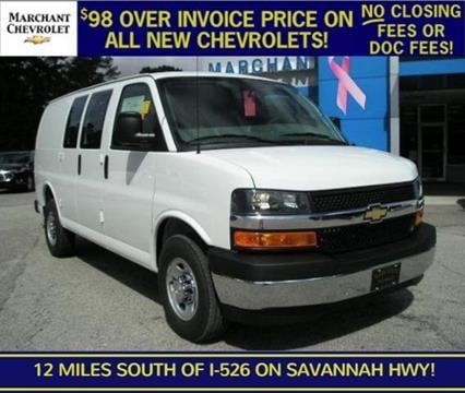 2017 Chevrolet Express Cargo for sale in Ravenel SC