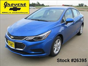 2017 Chevrolet Cruze for sale in Newhall, IA