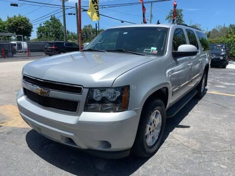 2011 Chevrolet Suburban for sale at America Auto Wholesale Inc in Miami FL