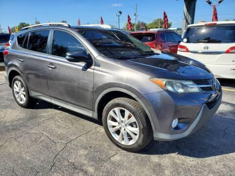 2013 Toyota RAV4 for sale at America Auto Wholesale Inc in Miami FL