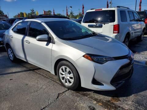 2019 Toyota Corolla for sale at America Auto Wholesale Inc in Miami FL