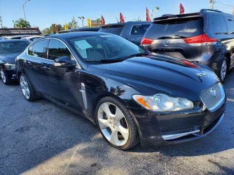 2009 Jaguar XF for sale at America Auto Wholesale Inc in Miami FL