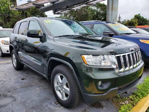 2011 Jeep Grand Cherokee for sale at America Auto Wholesale Inc in Miami FL
