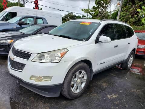 2009 Chevrolet Traverse for sale at America Auto Wholesale Inc in Miami FL