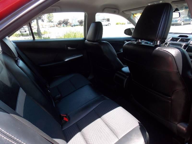 2012 Toyota Camry SE 4dr Sedan - Sacramento CA