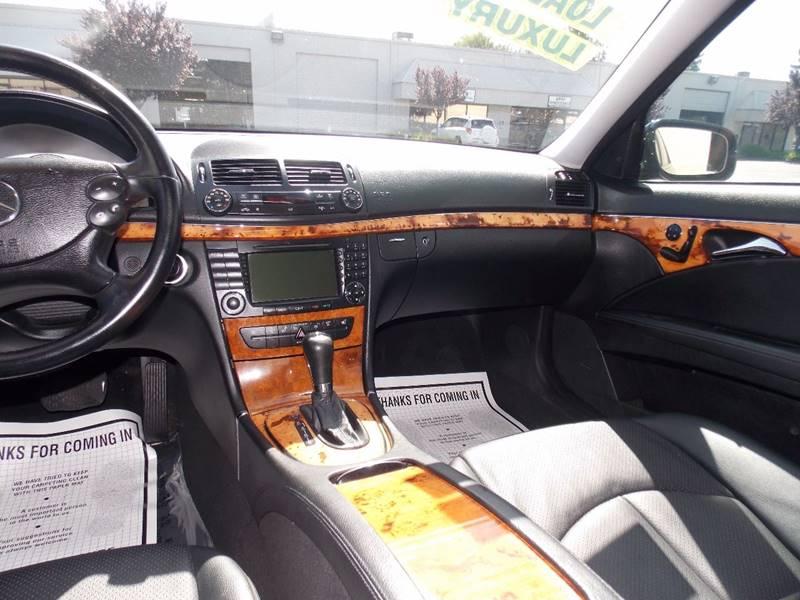 2007 Mercedes-Benz E-Class E 350 4dr Sedan - Sacramento CA