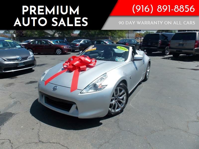 2010 Nissan 370z Roadster In Sacramento Ca Premium Auto Sales