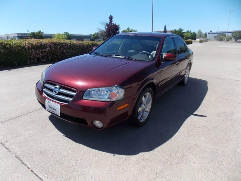 2002 Nissan Maxima For Sale At Premium Auto Sales In Sacramento CA