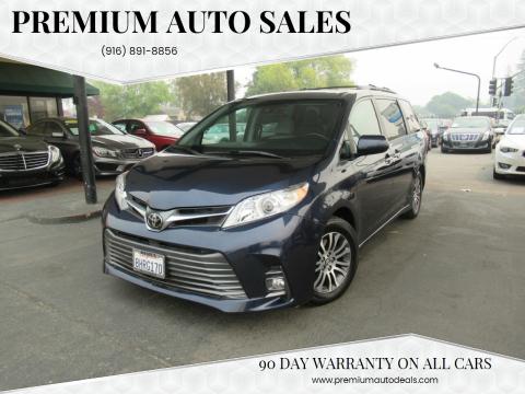 2018 Toyota Sienna for sale at Premium Auto Sales in Sacramento CA