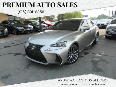 2017 Lexus IS 200t for sale at Premium Auto Sales in Sacramento CA