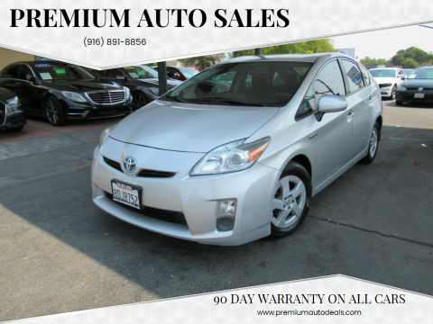 2011 Toyota Prius for sale at Premium Auto Sales in Sacramento CA
