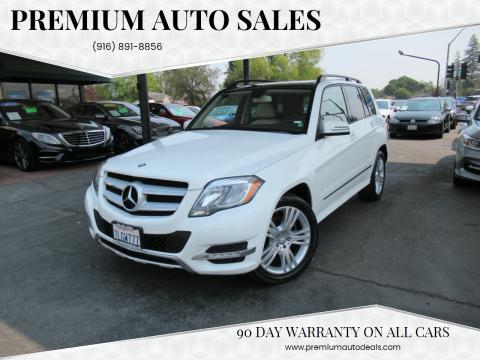 2015 Mercedes-Benz GLK for sale at Premium Auto Sales in Sacramento CA