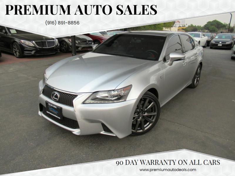 2015 Lexus GS 350 for sale at Premium Auto Sales in Sacramento CA