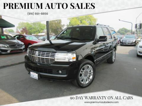 2013 Lincoln Navigator for sale at Premium Auto Sales in Sacramento CA