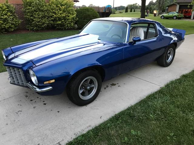 1973 Chevrolet Camaro for sale at THOMPSON & SONS USED CARS in Marion OH