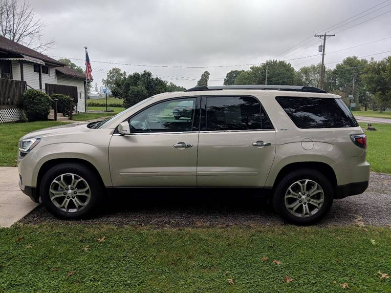 2015 GMC Acadia for sale at THOMPSON & SONS USED CARS in Marion OH