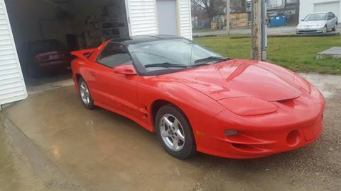 2000 Pontiac Firebird for sale in Marion, OH