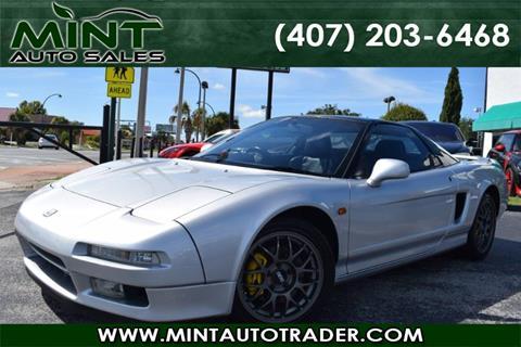 Acura NSX For Sale In Orlando FL Carsforsalecom - 1992 acura nsx for sale