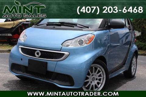 2014 Smart fortwo electric drive for sale in Orlando, FL