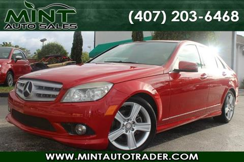 2010 Mercedes-Benz C-Class for sale in Orlando, FL
