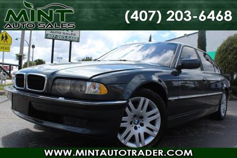 2001 BMW 7 Series for sale in Orlando, FL