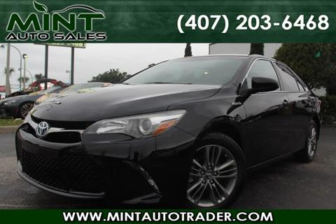 2016 Toyota Camry Hybrid for sale in Orlando, FL