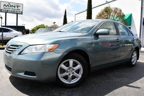 2007 Toyota Camry LE for sale at MINT AUTO SALES in Orlando FL