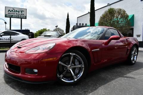 2012 Chevrolet Corvette Z16 Grand Sport for sale at MINT AUTO SALES in Orlando FL