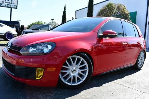 2013 Volkswagen GTI for sale at MINT AUTO SALES in Orlando FL