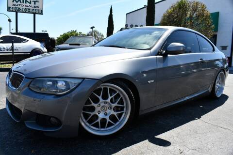 2012 BMW 3 Series 335i for sale at MINT AUTO SALES in Orlando FL