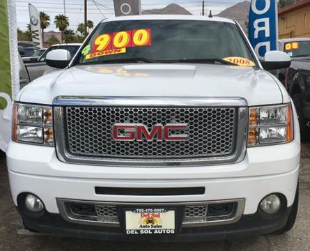 2008 GMC Sierra 1500 for sale in Las Vegas, NV
