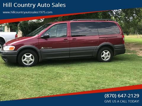 2005 Pontiac Montana for sale in Maynard, AR